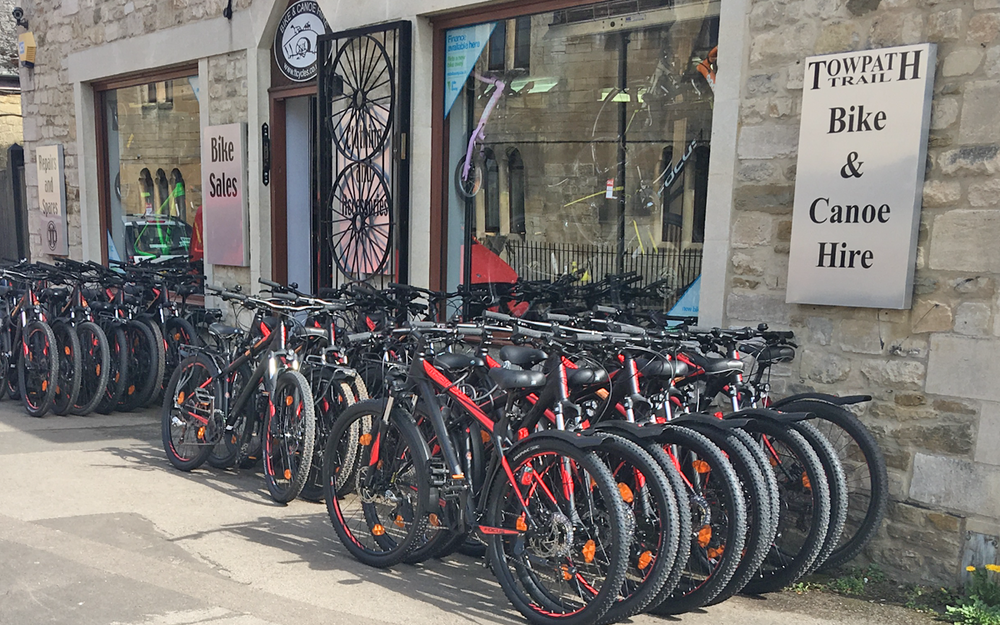 Bike Hire Bradford on Avon