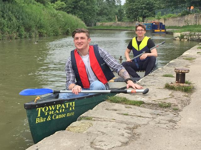 Canoe Hire Bradford on Avo
